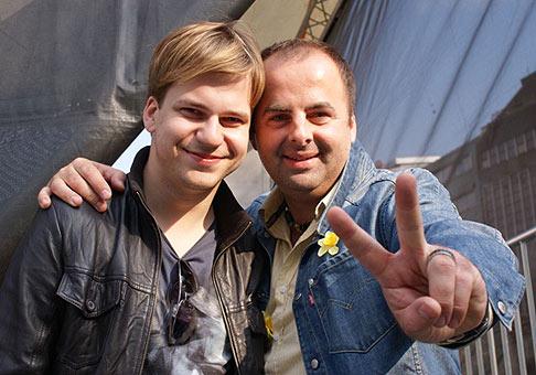 Martin Chodúr je nielen dobrý spevák, ale aj veľmi sympatický človek.