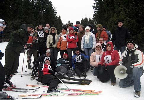 Teambuilding spoločnosti ČSOB a OVB v horskom hoteli Poľana. 28.1.2009.