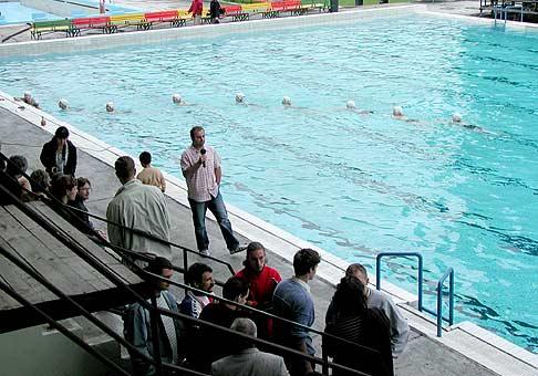Otvorenie podujatia s názvom Zachráňme MATADORKU v Bratislave. 25.6.2004