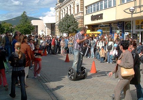 Oslava MDD spoločnosti Nitrazdroj na námestí v Nitre.