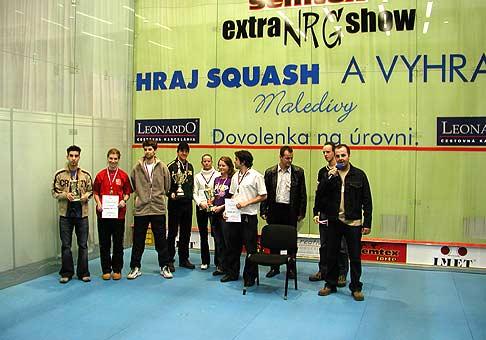 Semtex Extra NRG show 16. až 18 január 2004, Incheba Bratislava.