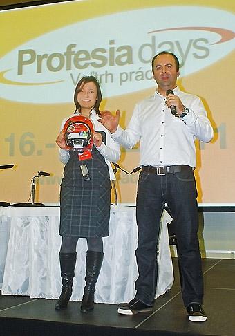 Profesia Days - Veľtrh práce v Bratislavskej Inchebe. 16. - 17.2.2011, Bratislava.