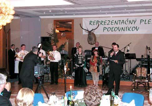 Reprezantačný ples poľovníkov, 6.2.2004 v Holiday Inn.