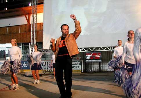 Aj keď bol zápas na MS v hokeji o bronz s USA rozhodnutý v náš neprospech, na štadóne v Poprade bola skvelá atmosféra a povzbudzovali všetci.