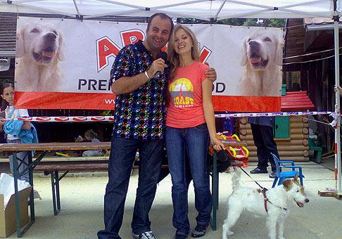 3.ročník súťaže Pes sympaťák 2008 sa opäť veľmi vydaril. Súťaž prišla podporiť aj Janka Hospodárová. 7.6.2008 Horáreň Horský park, Bratislava.