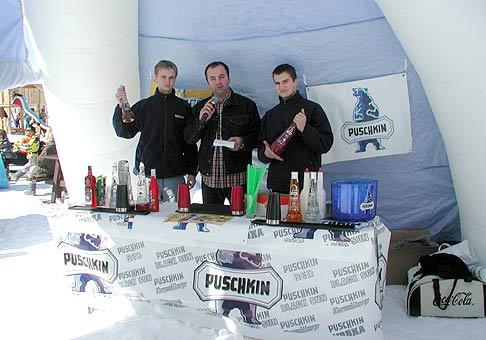Prezentácia Puschkin Vodka 6.3.2004 Plejsy.