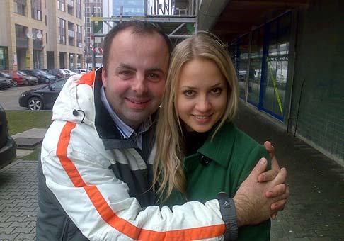 Táto fotka bola vytvorená špeciálne pre Jakuba Jokla z Banskej Štiavnice :-) Barbora Ťa pozdravuje. 23.1.2009 Bratislava