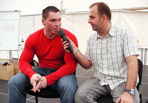 Aj Boris Prihradský bol hosťom prvého ročníka Rekordfest 2006.