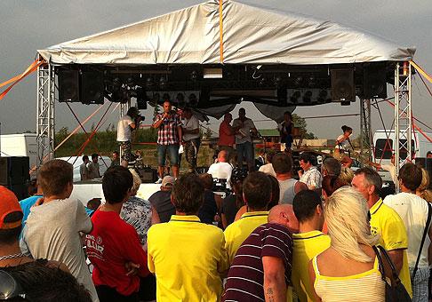 Narodeniny rádia Sity prišli oslávať aj Kmeťoband, Rytmus a BoneyM. 27.8.2011, Galanta.