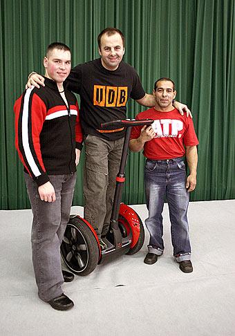 Boris Príhradský - Juniorský majter sveta v kulturistike a finalista BigBrother a Adam Cibuľa - trojnásobný majster Európy a tretí na MS Shanghai 2005 v kulturistike.
