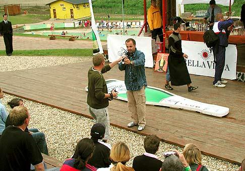 Medzinárodná súťaž barmanov, Hubert Cup 2004 v Aquaparku Tatralandia v Liptovskom Mikuláši. 22.8.2004.