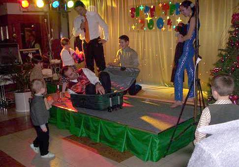 Silvester 2004 v hoteli Hubert Gerlachov.