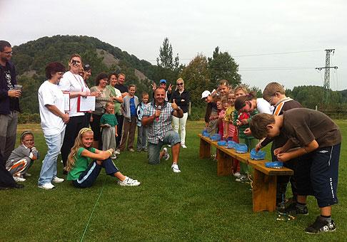 Športový deň spoločnosti Remeslo v hoteli Termál vo Vyhniach. 10.9.2011, Vyhne.