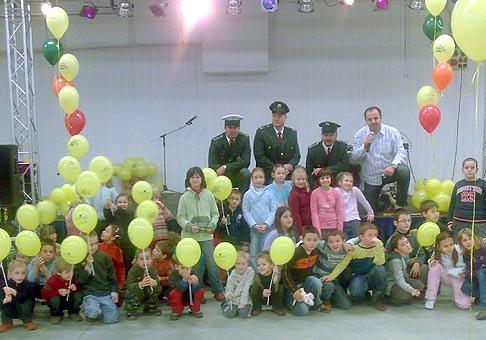 Na Inchebe mohli deti bezplatne získať detský vodičský preukaz Šoferáčik. 10.12.2008 Incheba Bratislava.