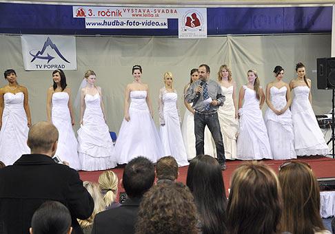 3.ročník svadobného veľtrhu v Poprade. 21.3.2009.