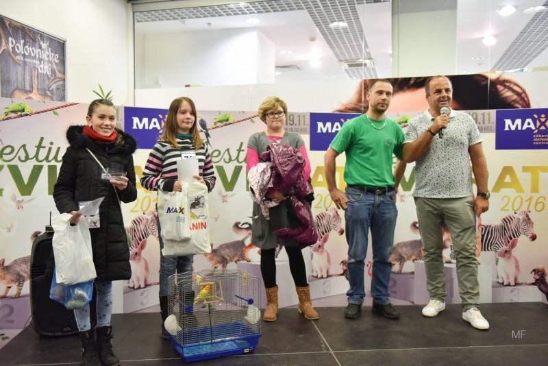 Festival zvierat v ZOC MAX. 19.november 2016 Prešov.