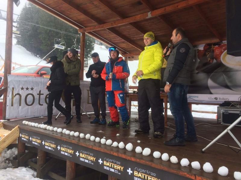 Štefanska zábava v lyžiarskom stredisku Vrátna. 26.decembra, 2016. Vrátna.