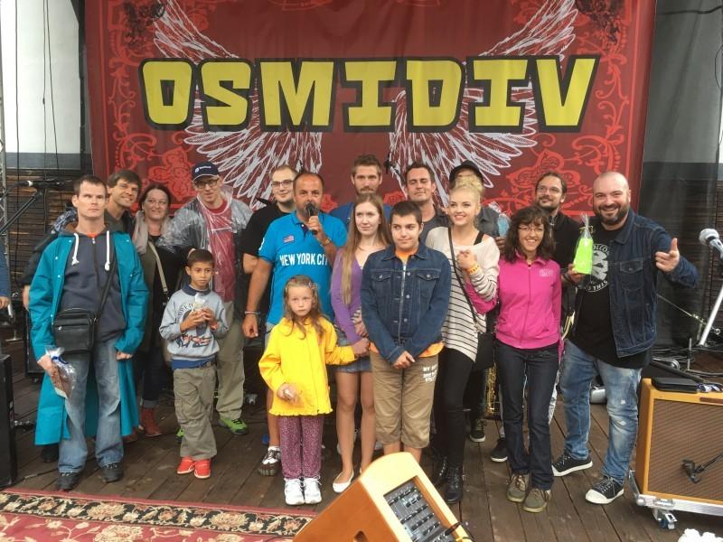 7.ročník festival Osmidiv pre ludi s telesnym a mentalnym postihnutim. 21.augusta.2016. Banska Štiavnica.
