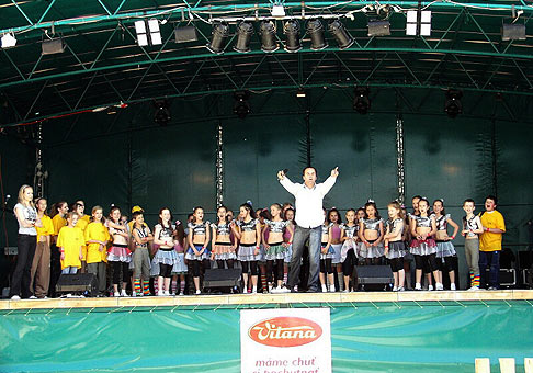 3. ročník festivalu Trdlofest v Skalici navštívilo viac ako 5000 ľudí. Výborná akcia. 19.5.2007.