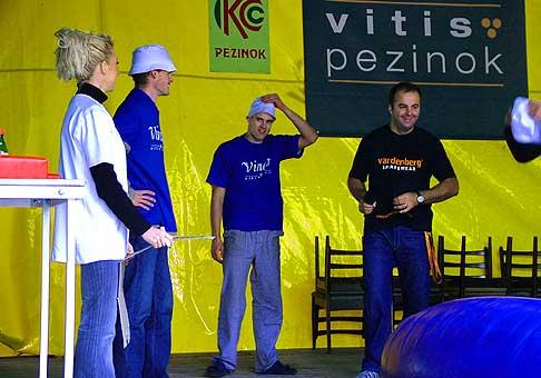Oslava 30-tich narodenín Vinea na vinobraní v Pezinku.