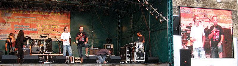 Sezóna letných festivalov sa začala :) - Piaty ročník Skalica Music Fest. 4. Júl 2009, Skalica.