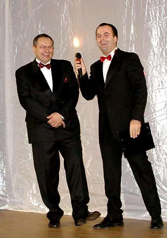 S pánom predsedom predstavenstva a generálnym riaditeľom Way Industry, sme sa skvele bavili na plese jeho spoločnosti.