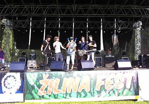 Prvý ročník festivalu v Žiline, Žilinafest 2011. 8-9.7.2011, Žilina.