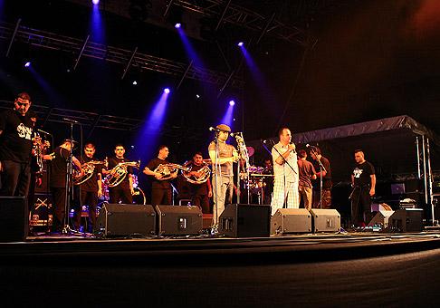 Boban Marković orkestar zo Srbska. 30.8.2010 Bratislava.